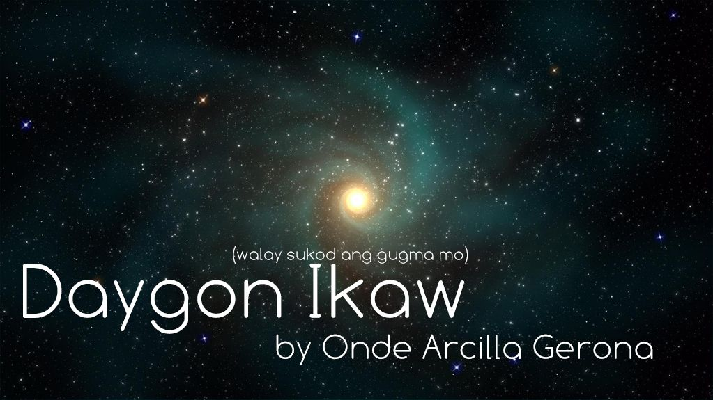 Daygon Ikaw By Onde Arcilla Gerona In 2018 Creating Worship Song