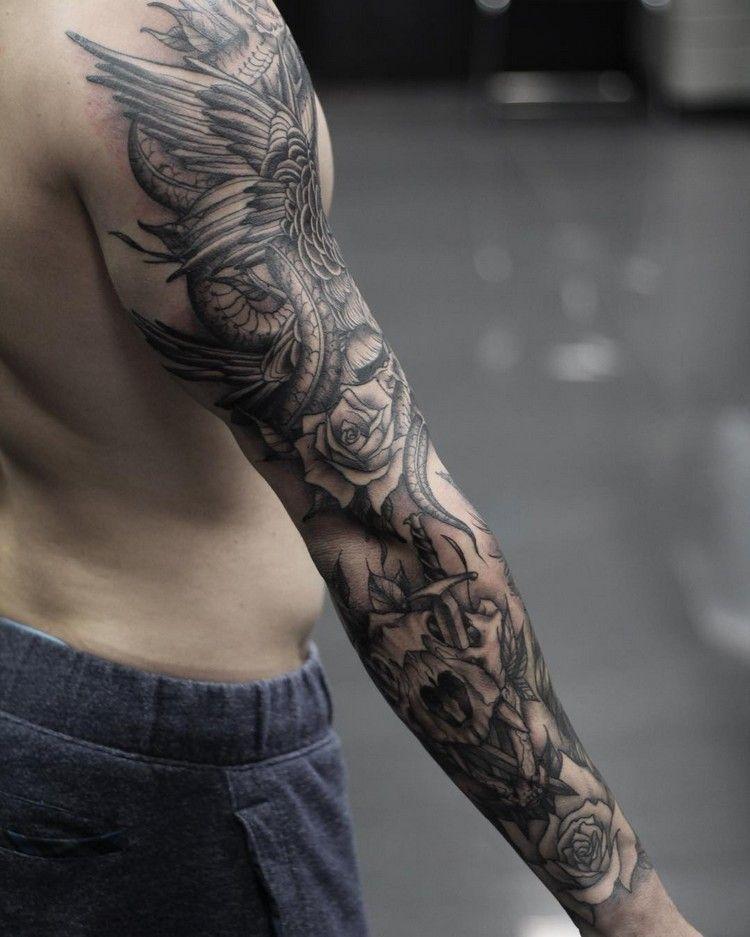Männer moderne tattoos 60 Namen