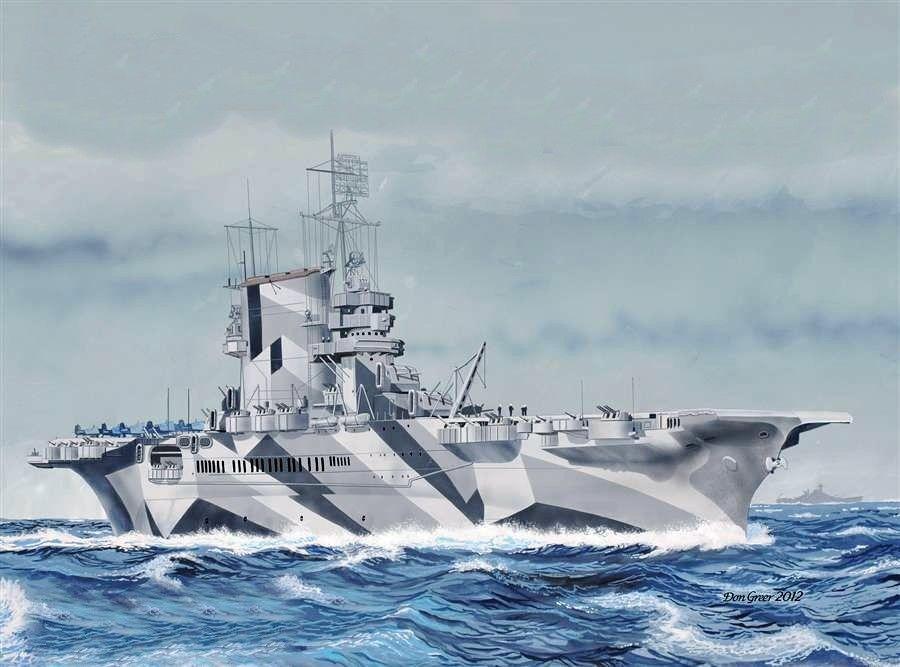 USS Saratoga, cortesía de Don Greer. Más en www.elgrancapitan.org/foro