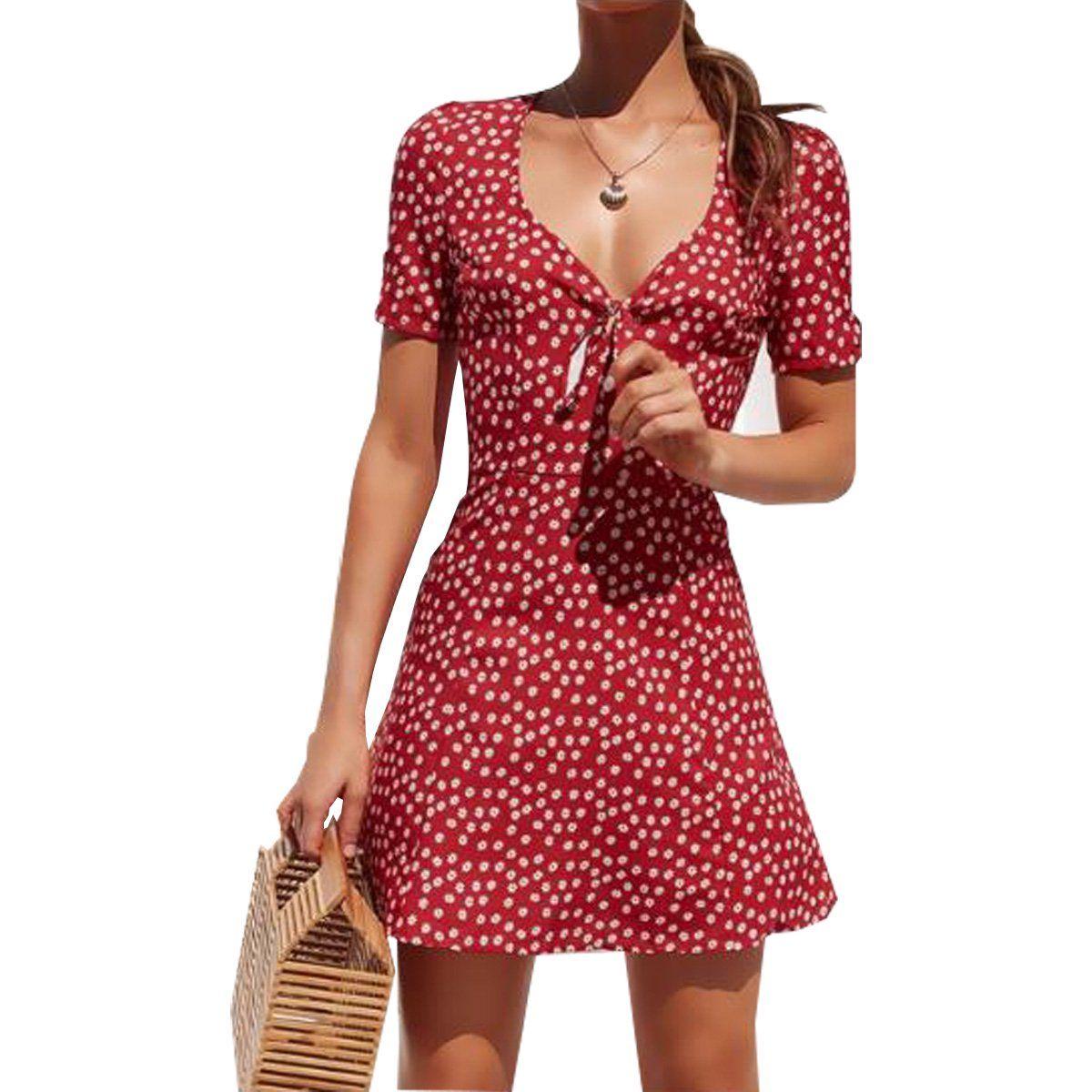 Misowmnjoy Womens Short Sleeve Boho Floral Wrap Dress Ladies Summer Holiday Party Sundress Walmart Com Walm In 2021 Mini Dress Womens Dresses Backless Mini Dress [ 1200 x 1200 Pixel ]