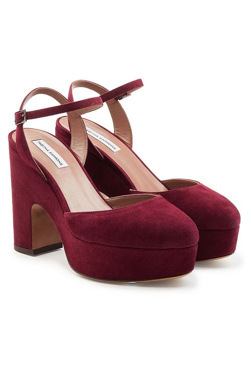 Tabitha Simmons Maya Suede Platform Pumps Nice Cheap Sale Pay With Visa For Cheap Online Huge Surprise Sale Online aHsrFa