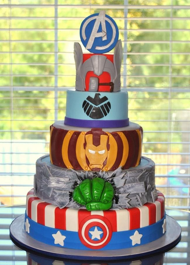 Fabulous 33 Of The Best Avengers Birthday Party Ideas On The Planet Funny Birthday Cards Online Alyptdamsfinfo