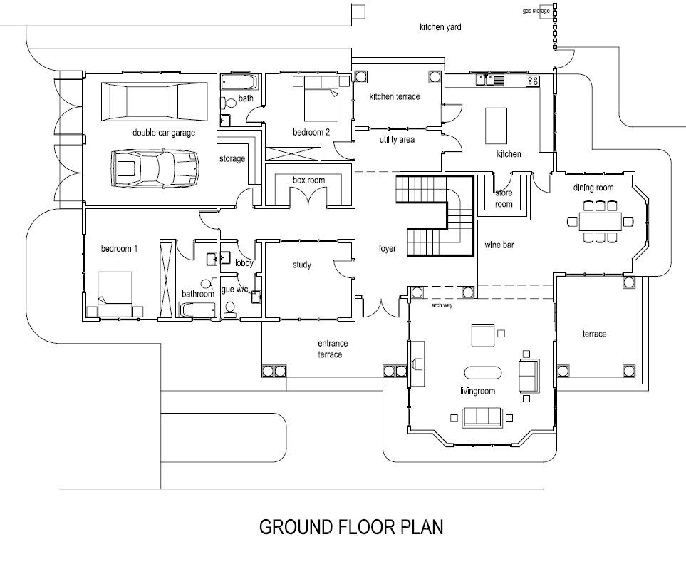 Ghana House Plans Mantse House Plan Cool Houseplans