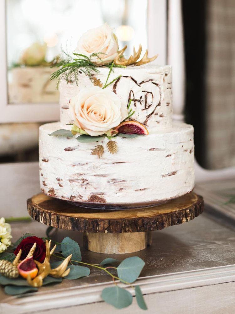 Photo of 35 rustikale Hochzeitstorten, die wir lieben