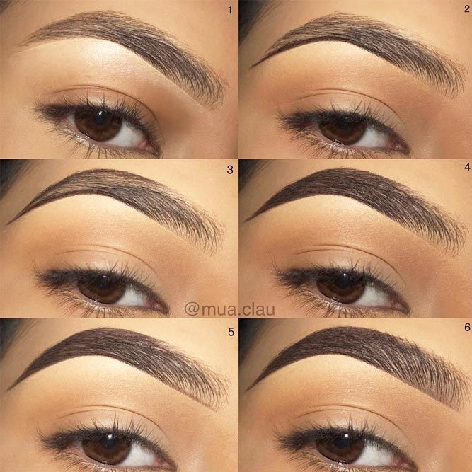 Guide To The Perfect Eyebrows For Your Face Shape Makeup