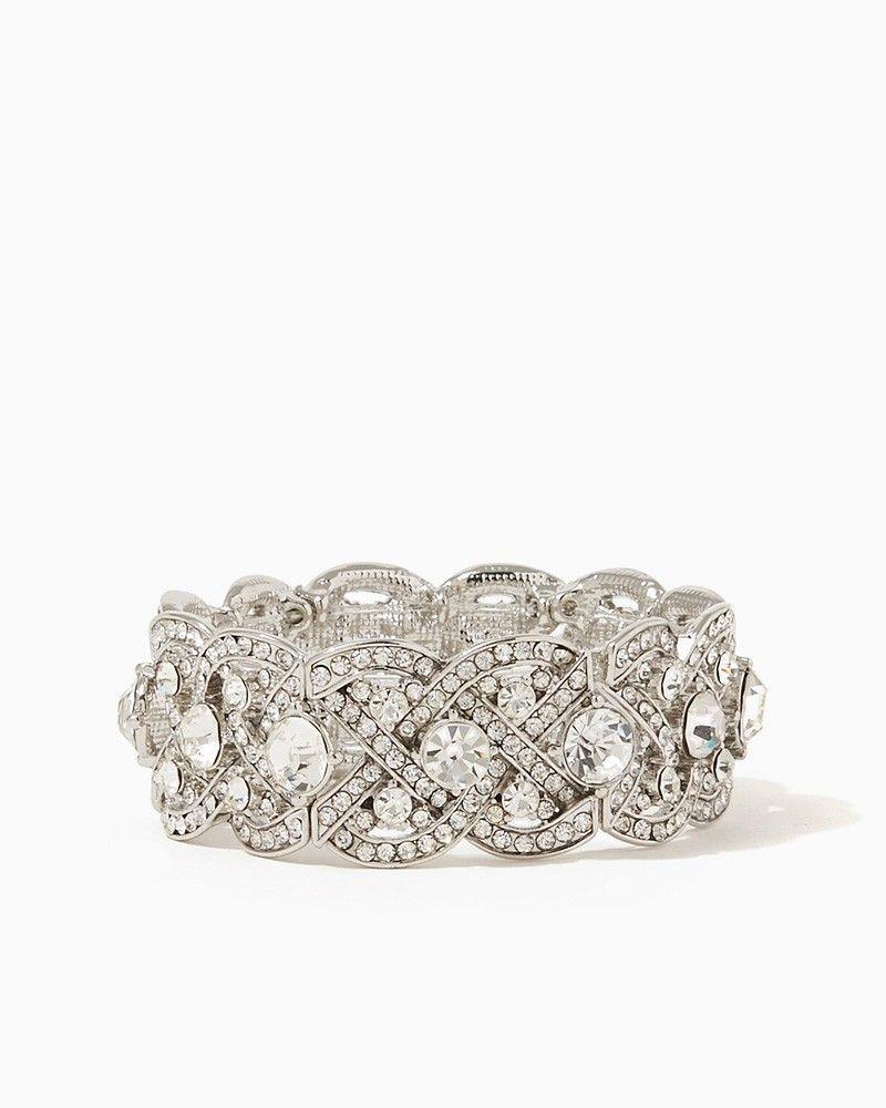 charming charlie Intertwining Sparkle Bracelet UPC 400000169187