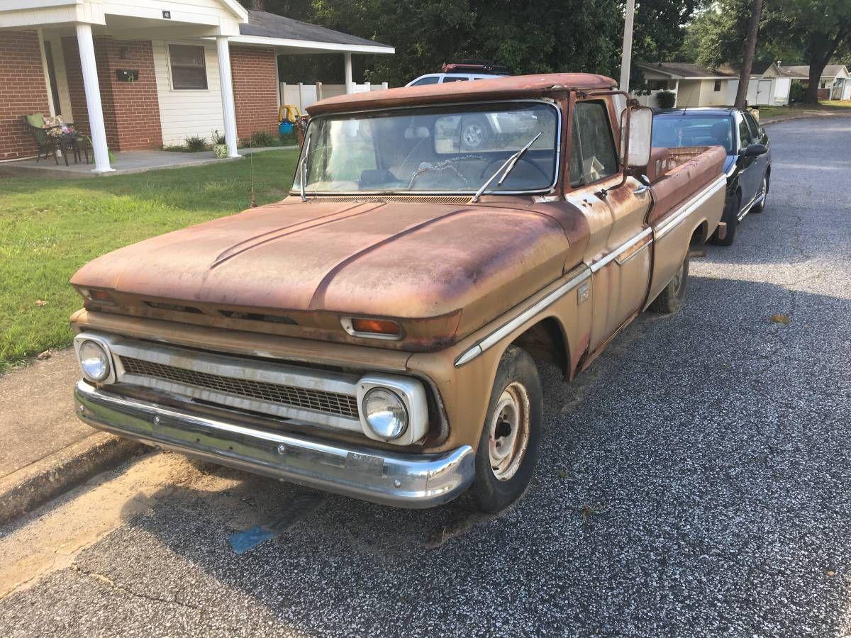 Rusty 1966 chevy c10 rat rod patina