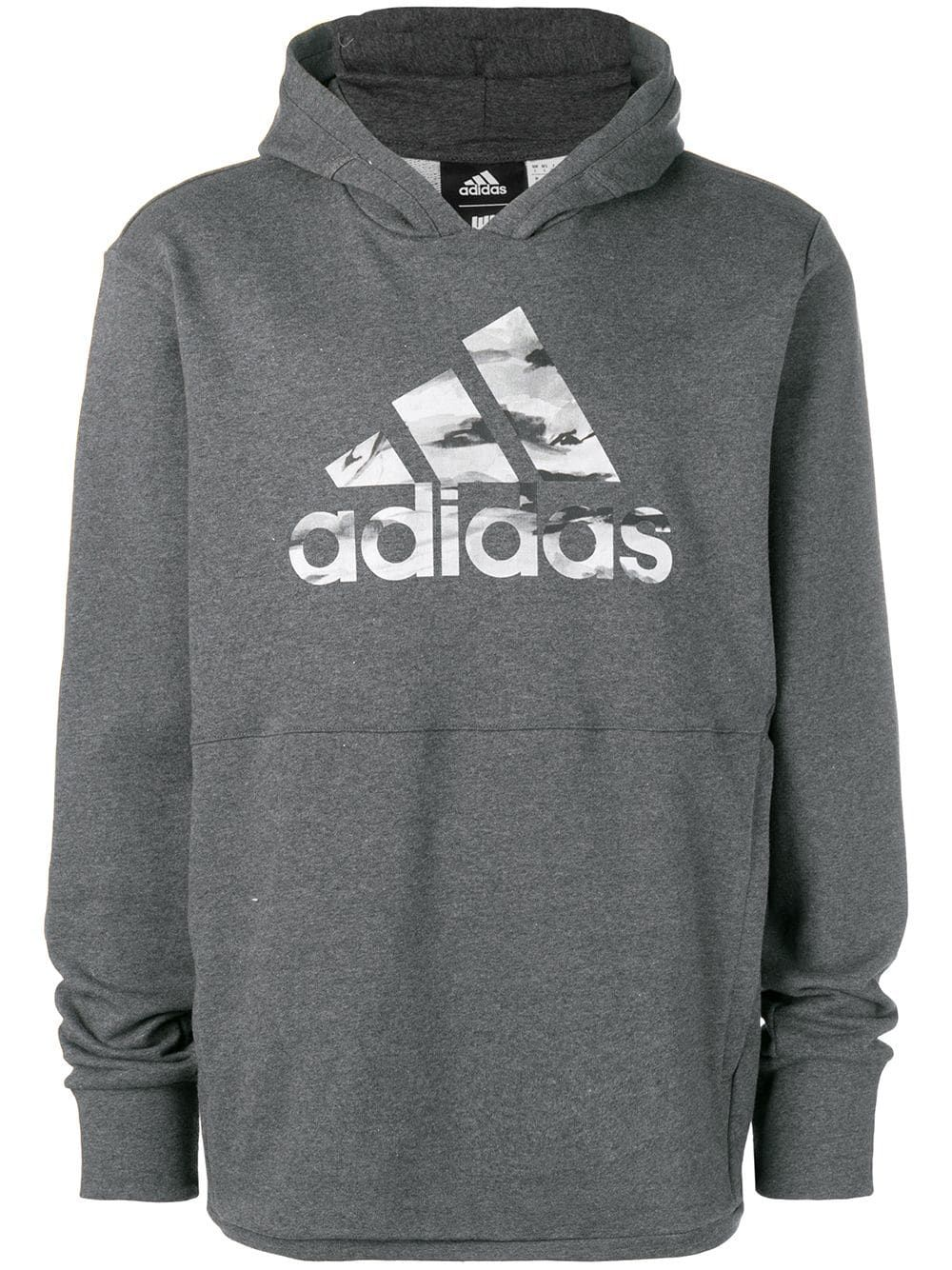 c8c139514643 ADIDAS ORIGINALS ADIDAS ADIDAS X UNDEFEATED TECH HOODIE - GREY.   adidasoriginals  cloth