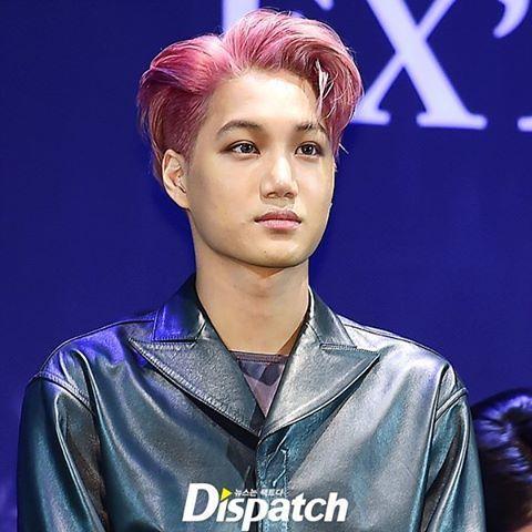 [LIVE] 160608 핑크빛 헤어도 완벽소화~ ☺☺ looks cool hair! #카이 #KAI #엑소 #EXO #EXACT #이그잭트 #디스패치 #디패 #dispatch