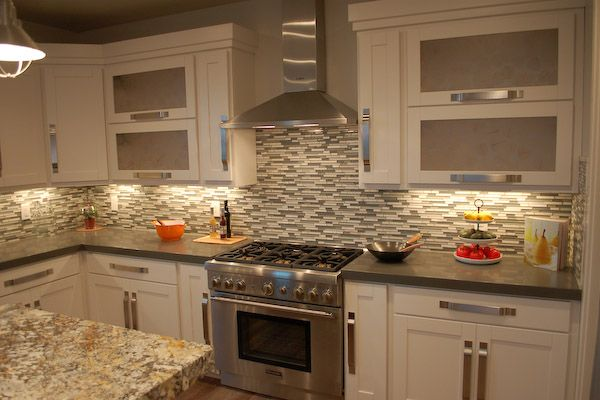 Countertop for Granite Idea Glass Backsplash | Granite Countertops ...