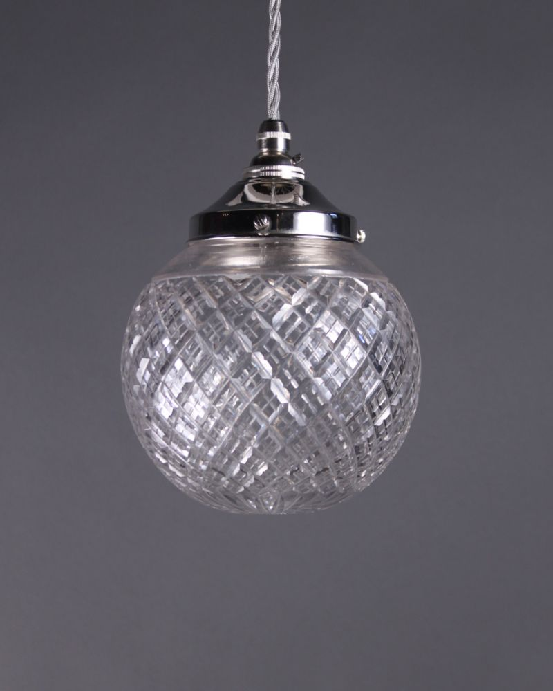 Cut crystal pendant light lighting pinterest crystal pendant cut crystal pendant light aloadofball