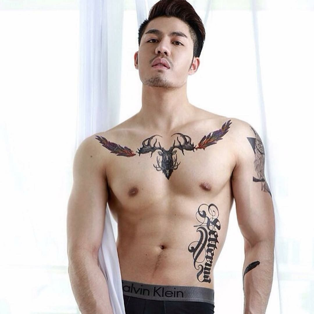 Tattoos for men love pin by love a sweet booty on love a tatted guy  pinterest  tattoo