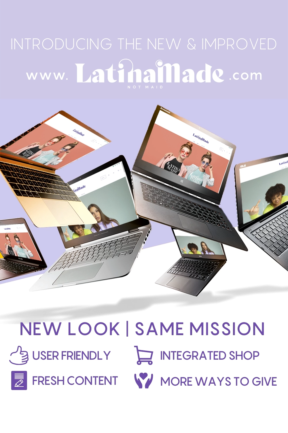 We are LIVE and super excited to hear what you think. A hub for #latinas. #LatinaMadeNotMaid #LatinaMade