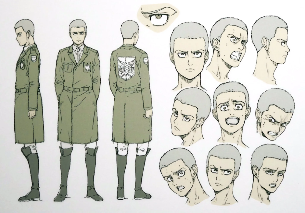 Attack On Titan The Final Season Character Designs Textless Version Shingekinokyojin In 2021 Character Design Attack On Titan Attack On Titan Season He tries to communicate with mike zacharias in order to get information about the. character design attack on titan