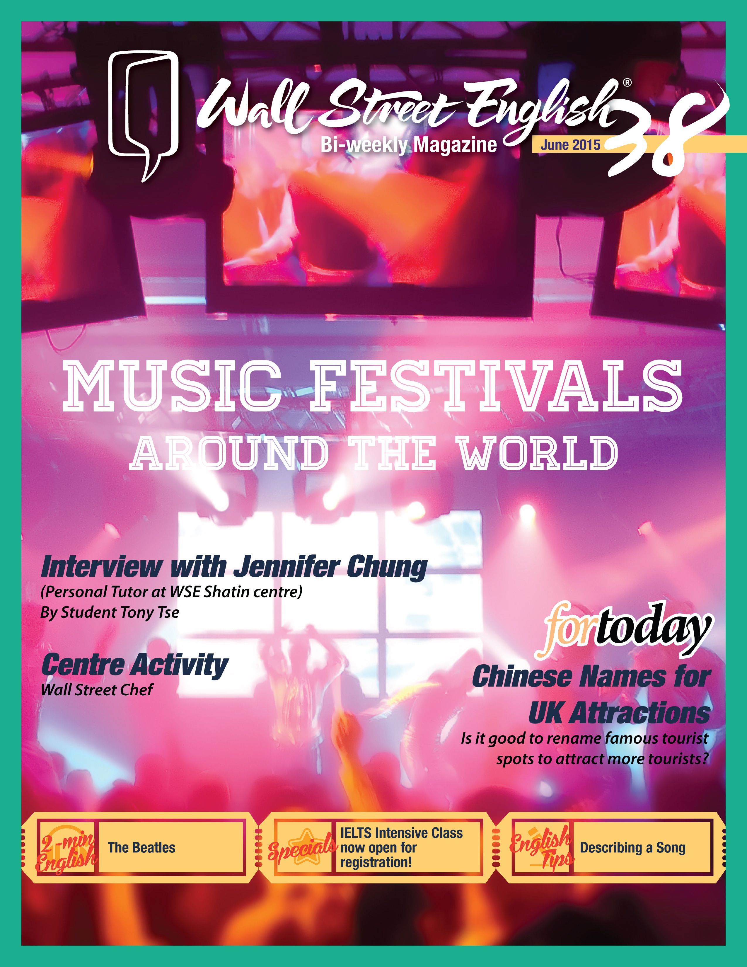 wall street english bi weekly magazine no 38 music on wall street english id=43309