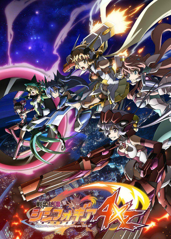 Senki Zesshou Symphogear AXZ 01 13 Anime, Senki