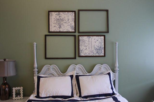 Follow+the+Wife:+DIY+Home+Decor:+Framed+Wallpaper