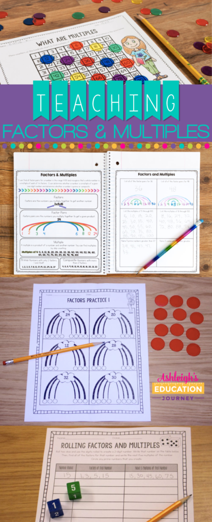 Teaching Factors and Multiples