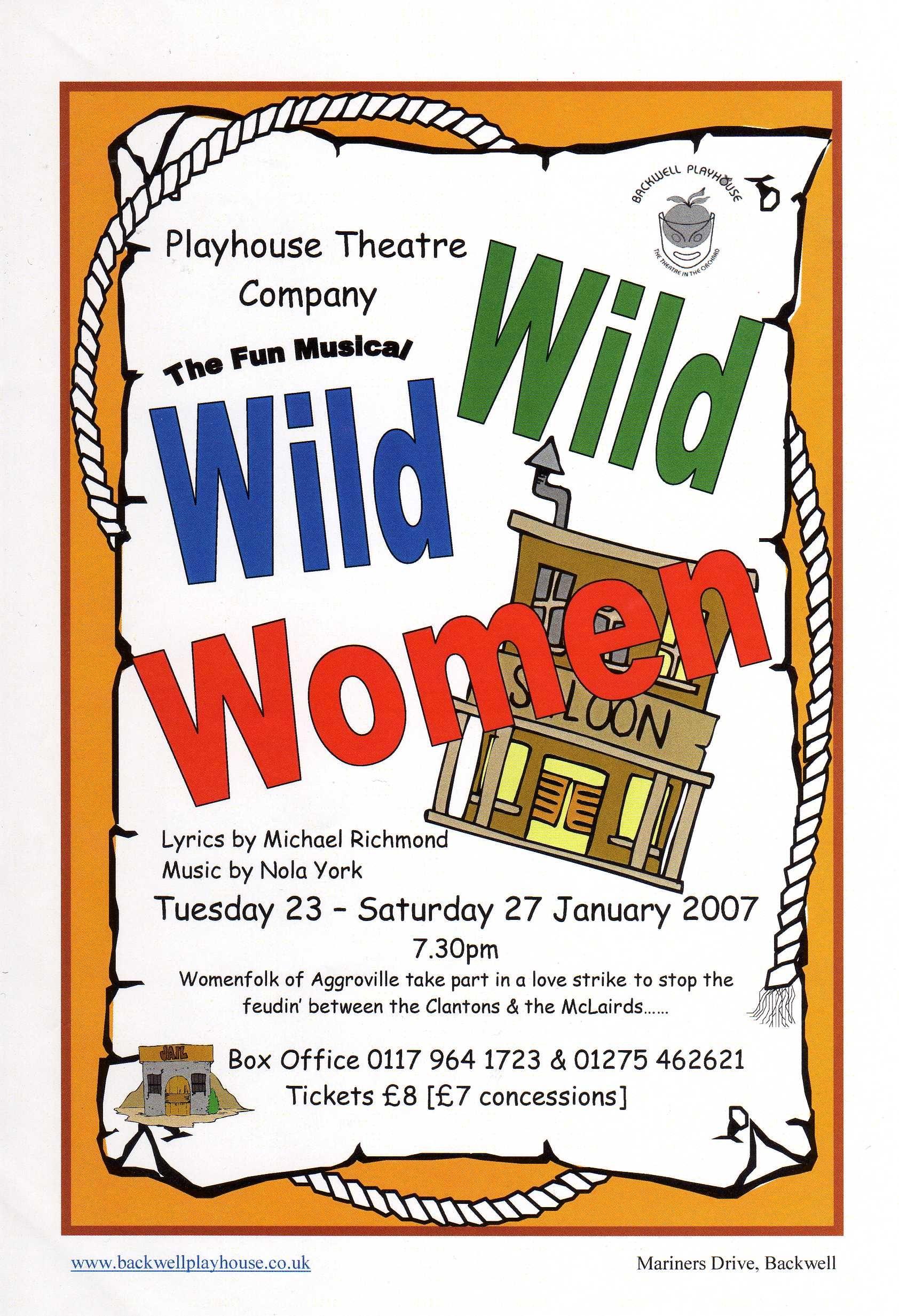 Wild Wild Women Poster - January 2007