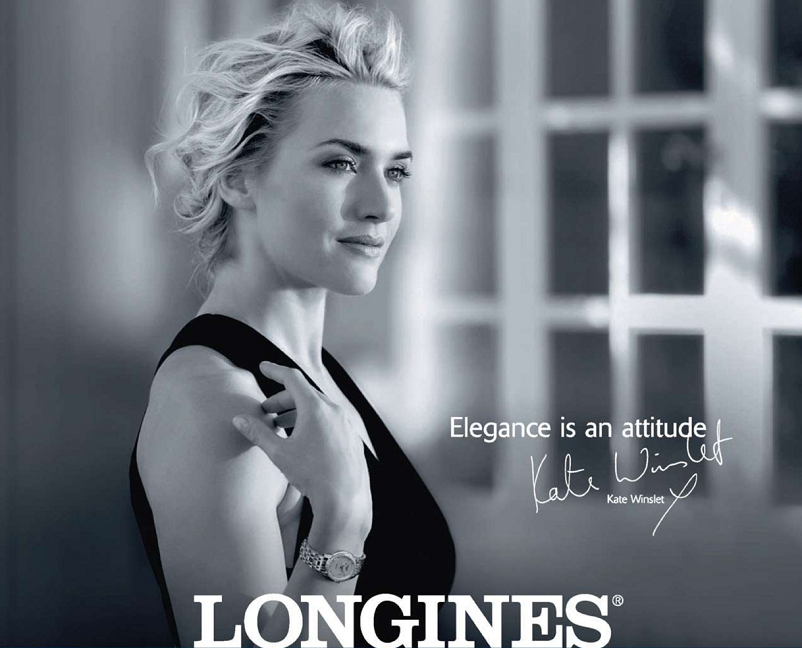 Kate Winslet For Longines Kate Winslet Advertising Photography Kate