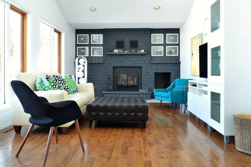 Ways Refresh Brick Fireplace Dark Walls Living
