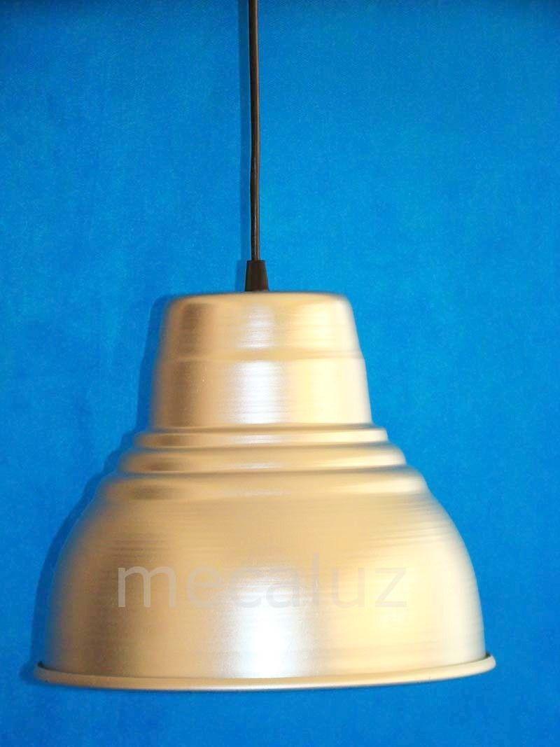 Lampara Colgante Campana Galponera Apta Bajo Consumo Cod 26c