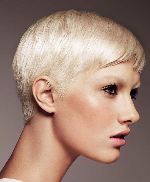 Hairstyles For Very Thin Fine Hair: Very Short Haircuts For Very Fine Thin Hair