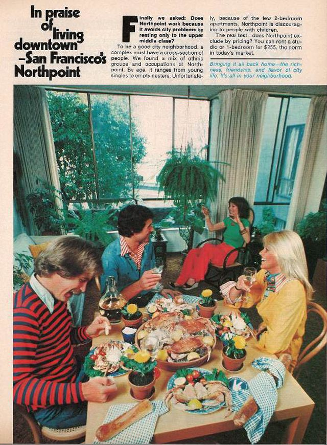 Look Back At 1970s Era Northpoint With Apartment Life Magazine Sfist Sanfrancisco