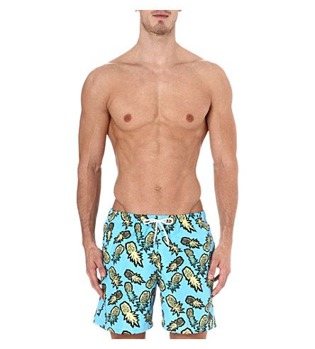 ffd3ab3d6b FRANKS Pineapple swim shorts (Blue yellow | Swimming Trunks to Buy ...