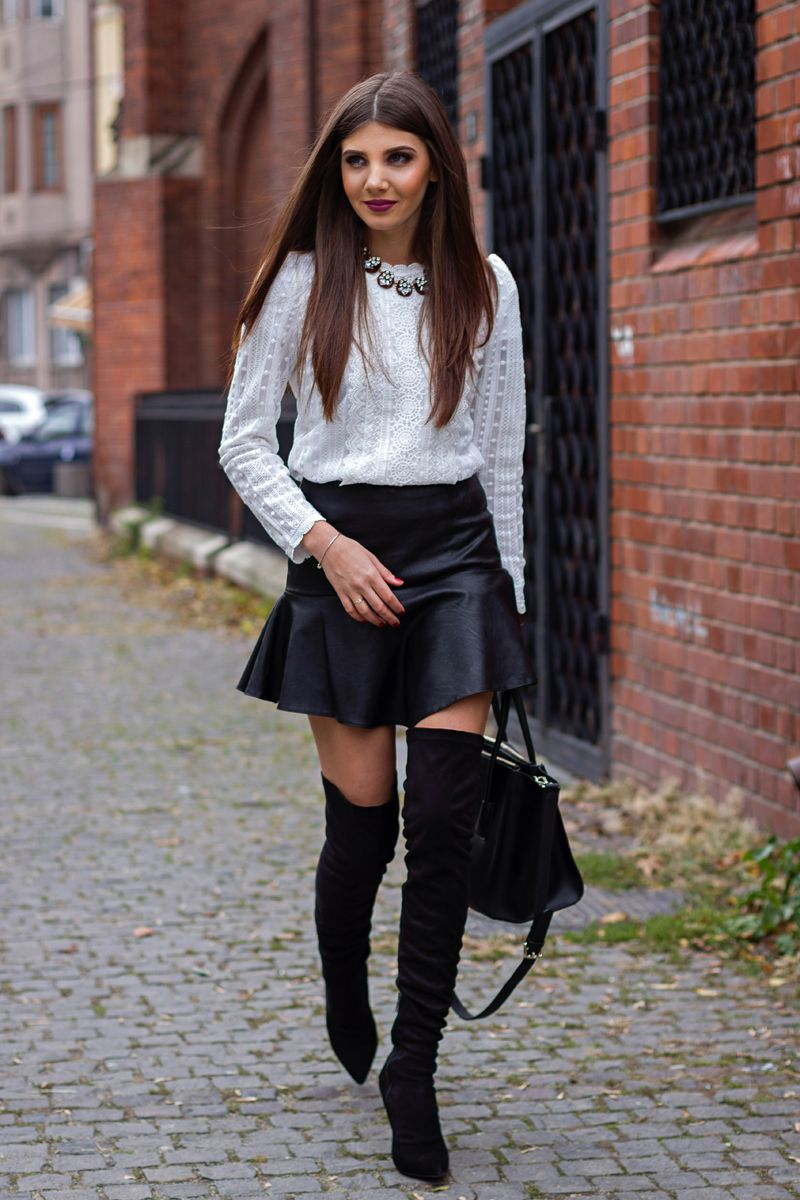 WEARING THIGH HIGH BOOTS FROM EGO SHOES | What Vero Wears