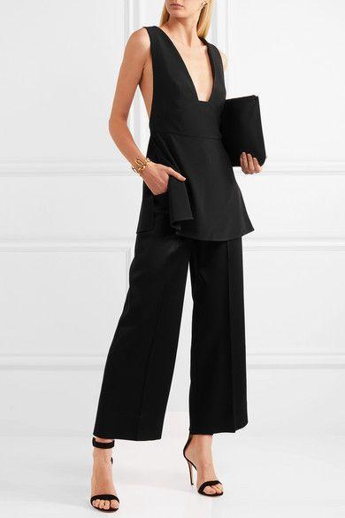 Outlet Latest Amanda Cady Top - Black Stella McCartney Grey Outlet Store Online Orange 100% Original Cheap Sale Limited Edition AVQZyq3nn