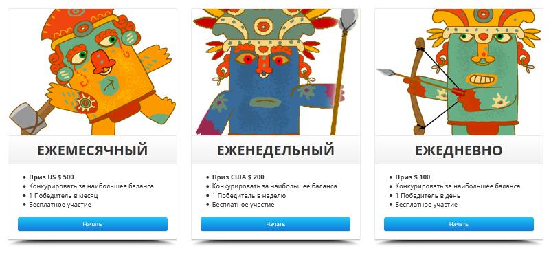 Дневные форекс демо конкурсы платформы для работы на форекс