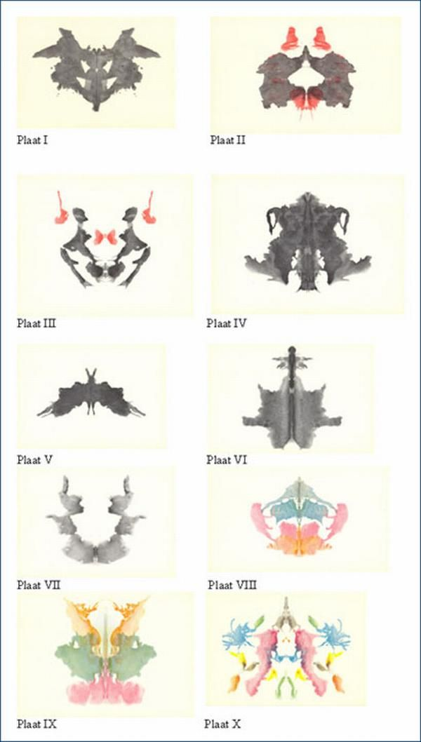 The Ink Blot Test The inkblot test (also called the  - psychological evaluation