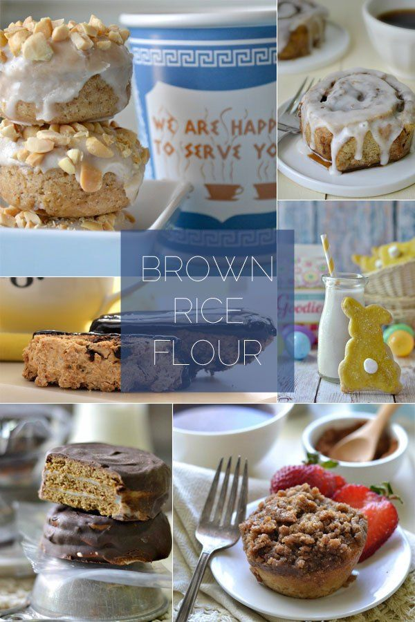 Gluten Free 101: Rice Flour   Gluten free sweets, Gluten ...