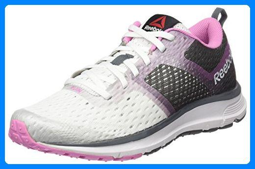 Reebok Damen One Distance Sneakers, Weiß (White / Alloy / Icono Pink),