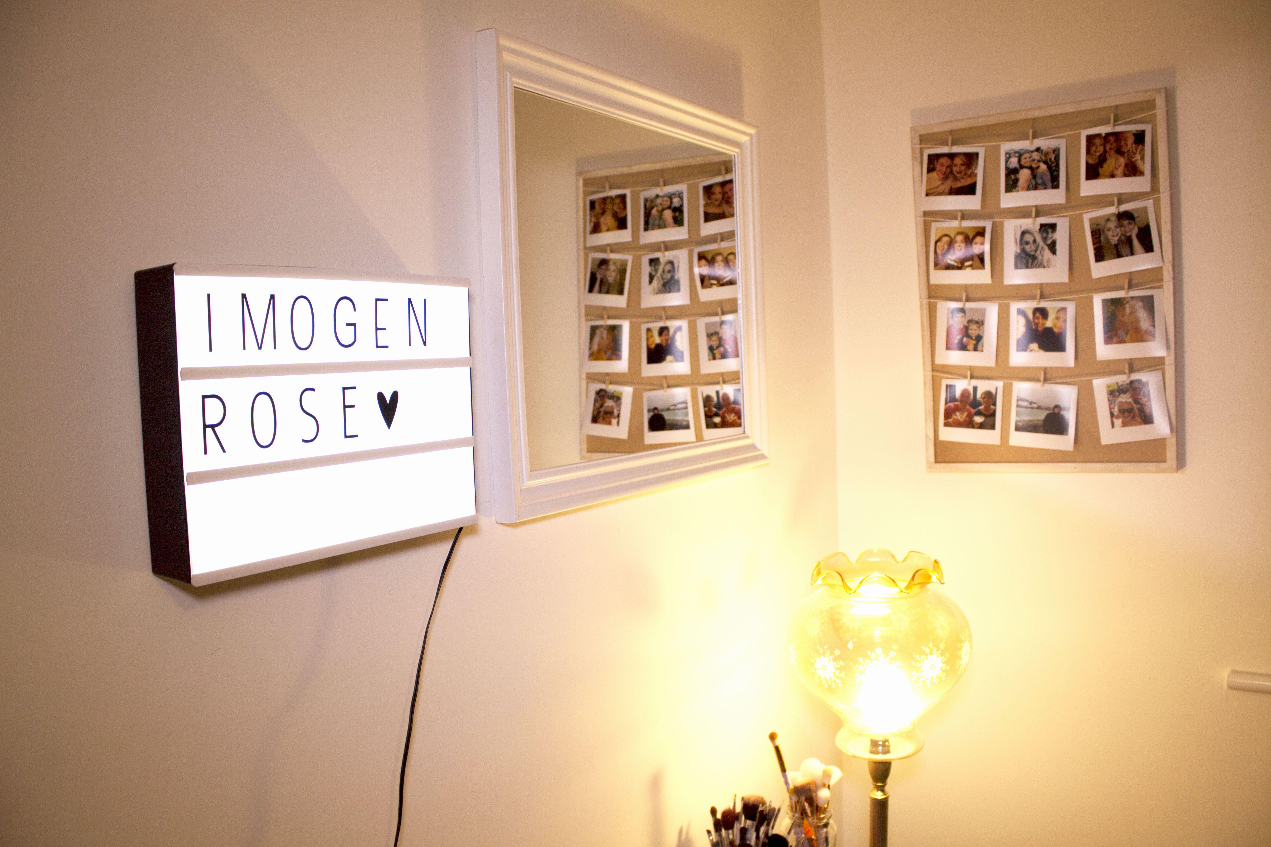 DIY PINTEREST PHOTO BOARD #diy #walldecor #roomdecor #homedecor ...