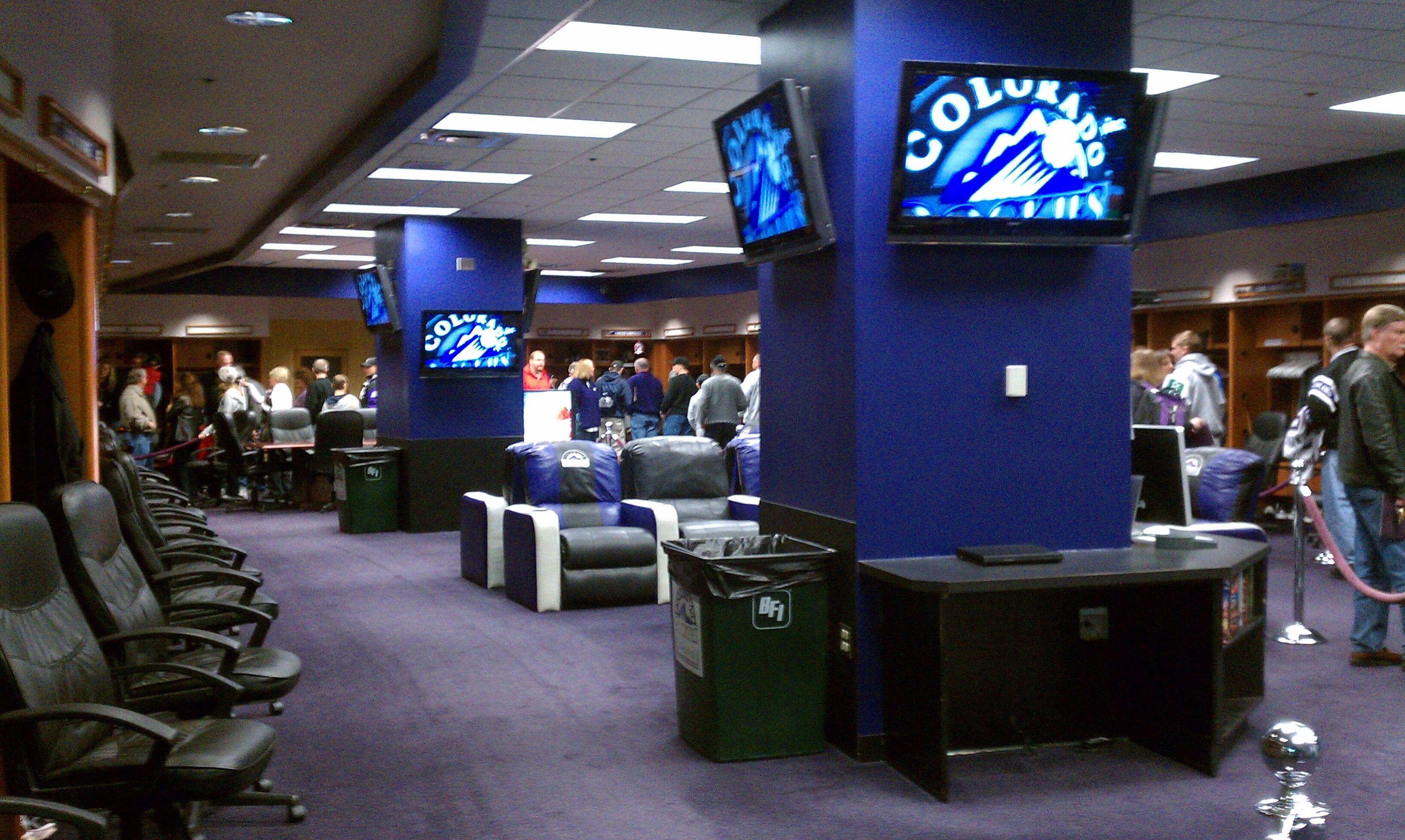 Colorado Rockies Locker Room