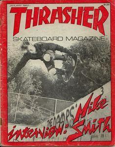 Thrasher - January 1982