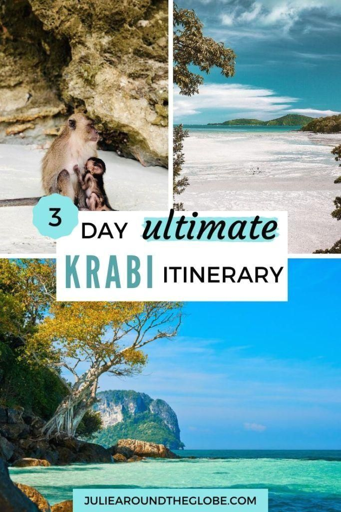 #thailand  #travel  #guide  #itinerary  #travelinspiration  Everything you need to plan your Krabi itinerary: best places to visit, what to do, where to stay, suggested 2 and 3 days routes #Krabi, #spend Things to do in Krabi, how to spend 2 or 3 days in Krabi, itinerary | Thailand travel guide and best destination | What to do in Krabi and places to visit like beaches, temples, national parks, island hopping, rock climbing, kayaking |