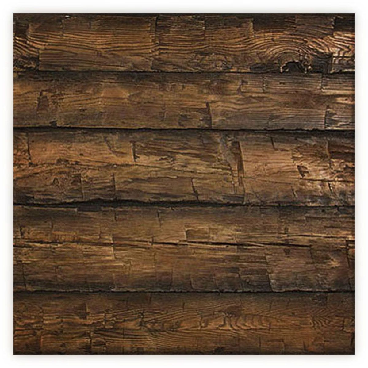 8 Inch W X 10 Inch H Hand Hewn Endurathane Faux Wood Siding Panel Sample Weathered Mahogany Wood Siding Exterior Wood Siding Wood Panel Siding