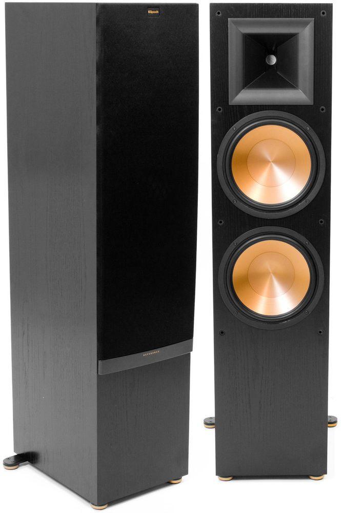 Klipsch Rf 7ii Tower Floor Standing Speaker Pair Black Ebay Klipsch Home Theater Speaker System Hifi