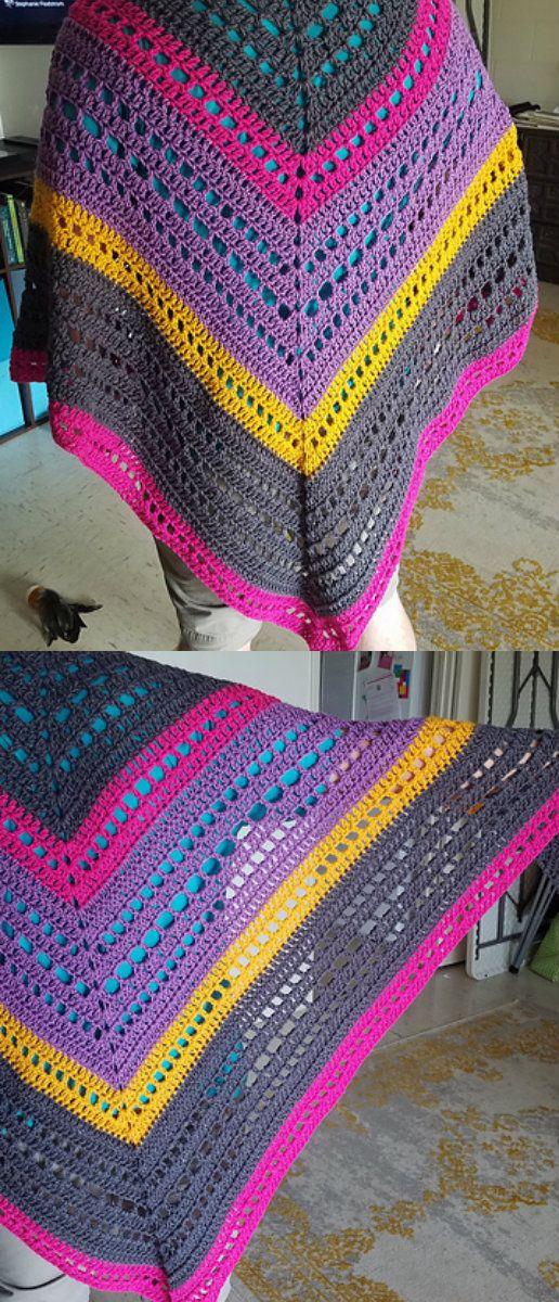 Mystic Morning Wrap Shawl Free Crochet Pattern | Shawls Free Crochet ...