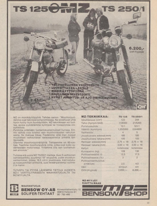 MZ-pyörä - MP-lehti 5/1978