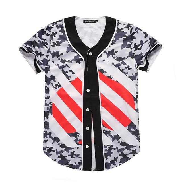 7f4a0dfc8dc Camo Striped Jersey in 2019