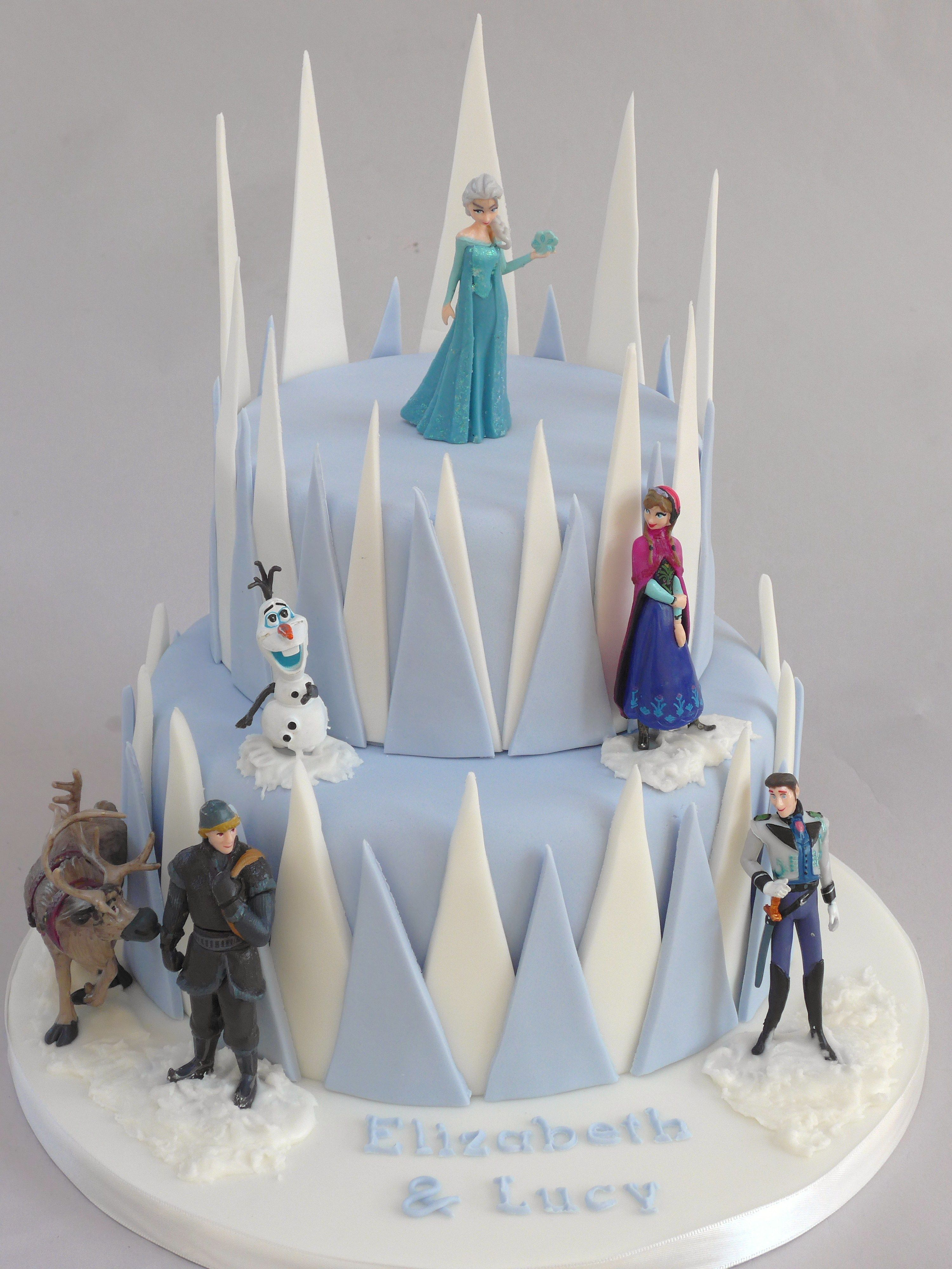frozen cake decorating kit | cake decorating kits, fondant and cake