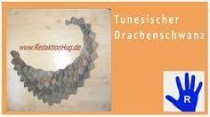 Tunesisch Häkeln Drachenschwanz Im Entrelac Aus Pastello Von Pro