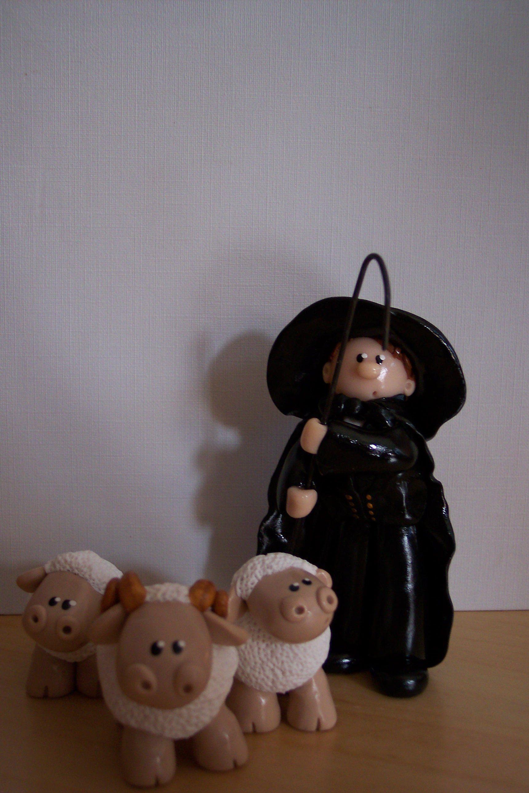 berger alsacien et ses moutons myriam lakraa cr ations. Black Bedroom Furniture Sets. Home Design Ideas
