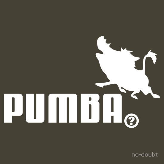 aaaf27b399962 Pumba, Lion King vs. Puma by no-doubt | Funny things from Movies ...