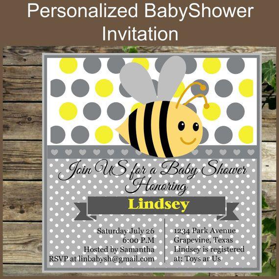 Baby Mano Shower Para Invitaciones Hechas