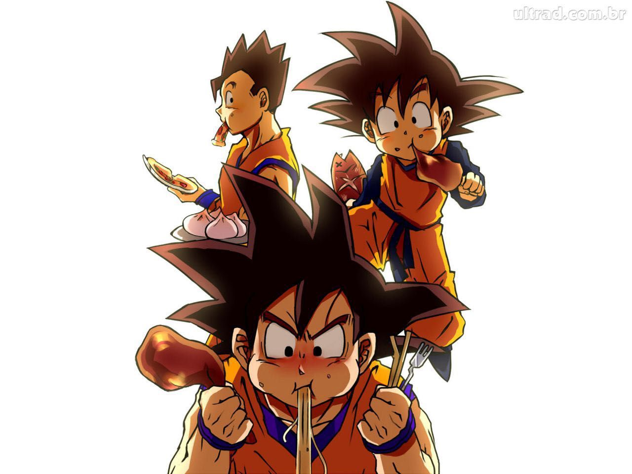Goku Eating Comp